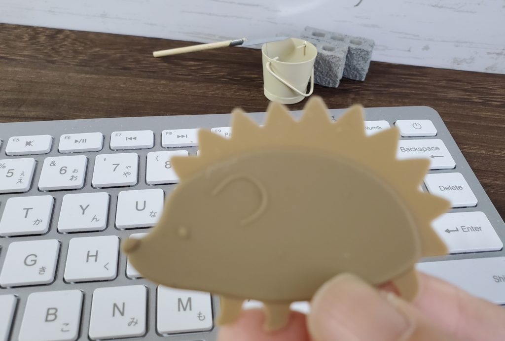 hedgehog silicon keyboard cleaner3