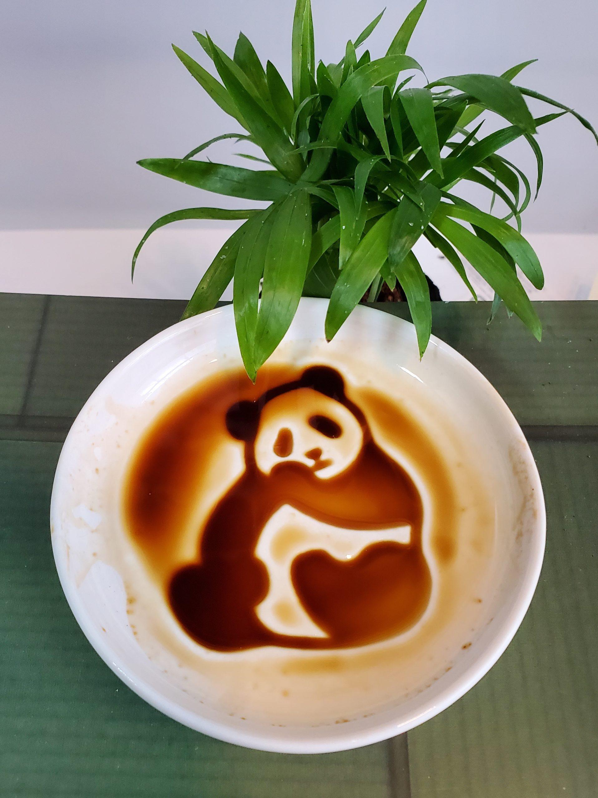 small dishes panda